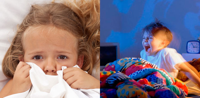 Тревожный ребенок, страшный сон