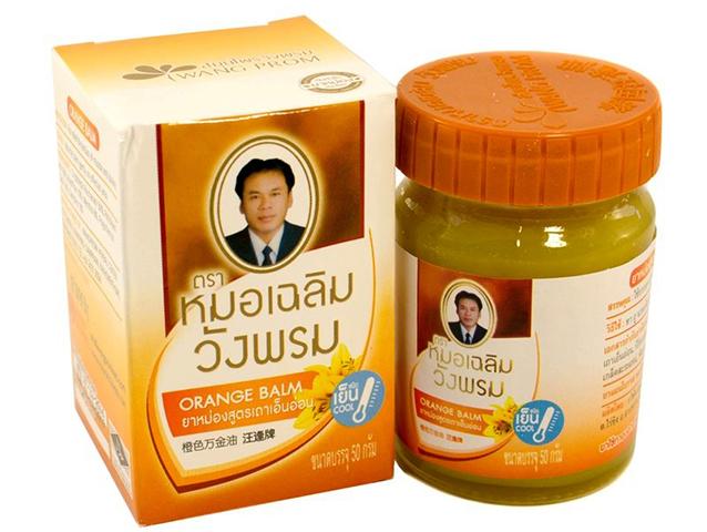 Тайский оранжевый бальзам WangProm