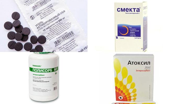 Лекарства при пищевом отравлении-min