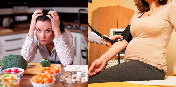 Потеря аппетита, снижение давления при беременности