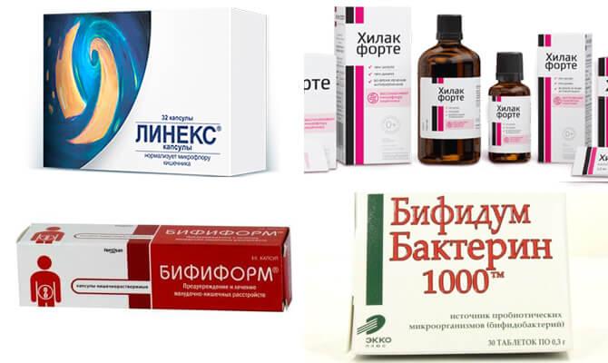 Лекарства для нормализации микрофлоры