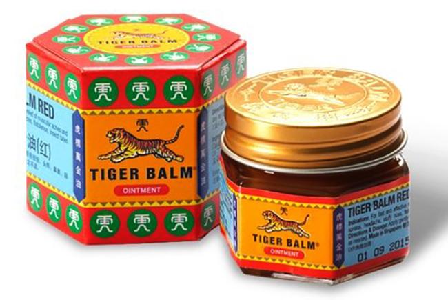 Тигровый красный бальзам Tiger Balm