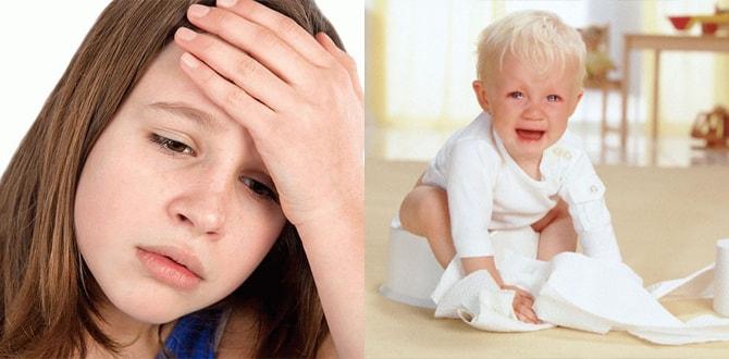 Головная боль, понос и рвота у ребенка
