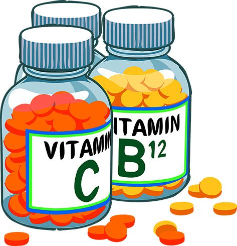 Банки с витаминами