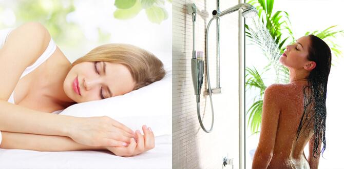 Здоровый сон, контрастный душ
