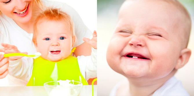 Прорезывание зубов, первый прикорм