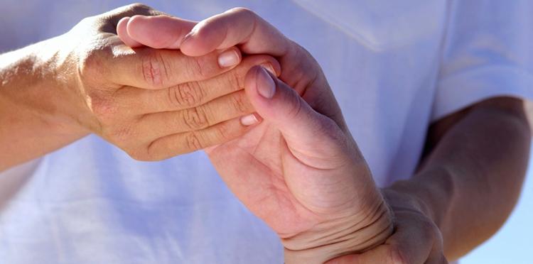 Осмотр кисти руки