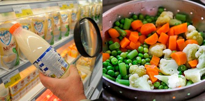 Проверка срока годности, овощи на пару