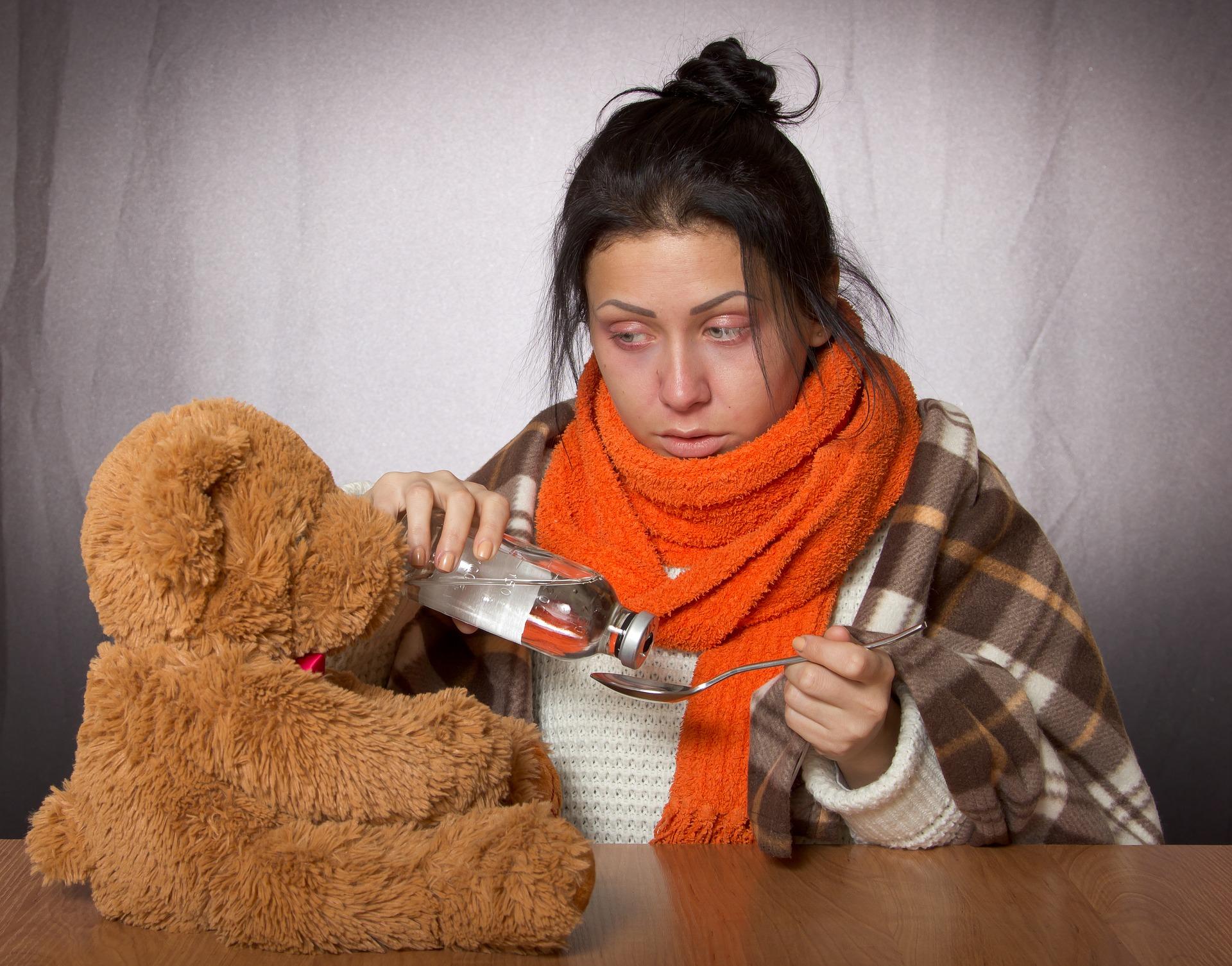 грипп, простуда