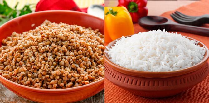 Гречка, рис на воде