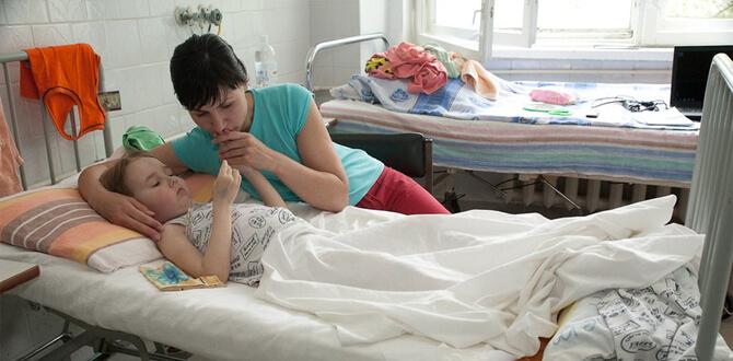 Ребенок в госпитале
