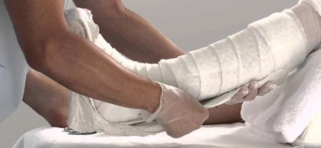 Лангетка на ногу