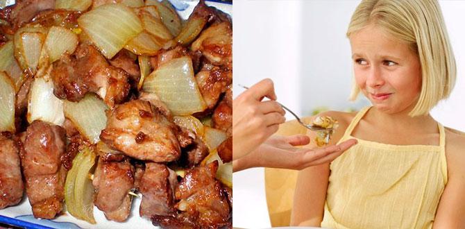 Жирная пища, заставлять детей есть
