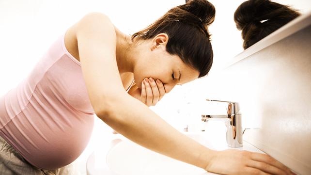 Ранний токсикоз беременности
