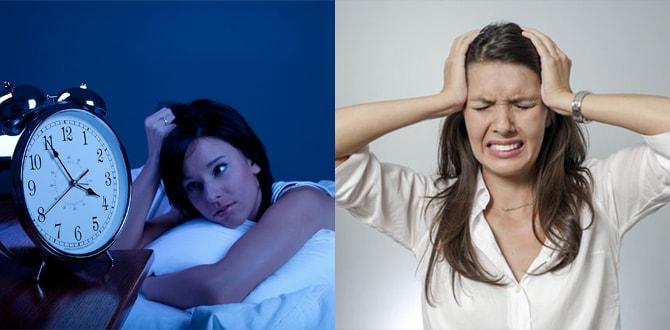 Бессоница, головная боль