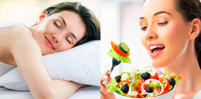 Здоровый сон, правильное питание