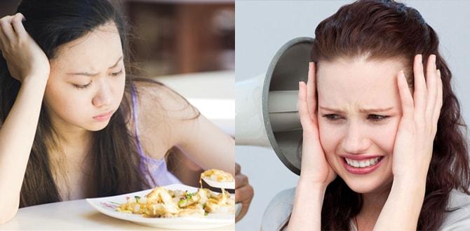 Отсутсвие аппетита, шум в ушах